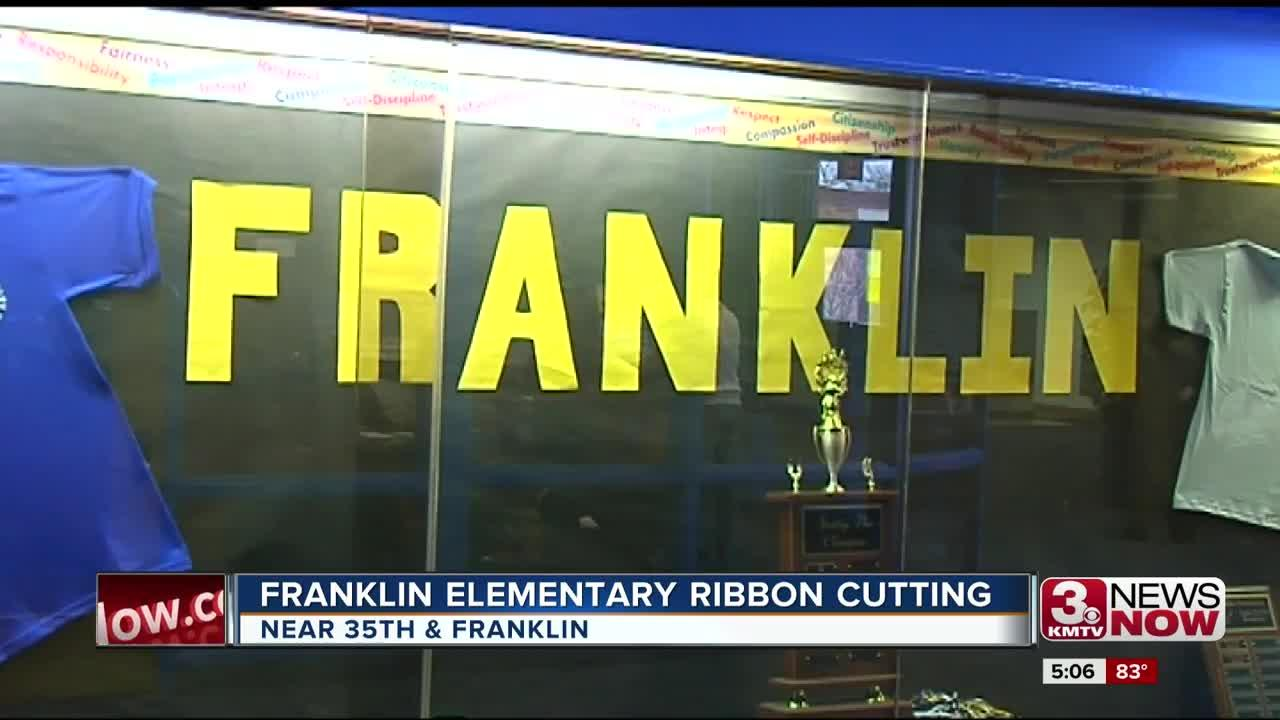 Franklin Elementary families see school updates at ribbon cutting