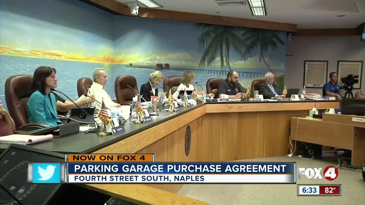 Naples parking garage moves forward