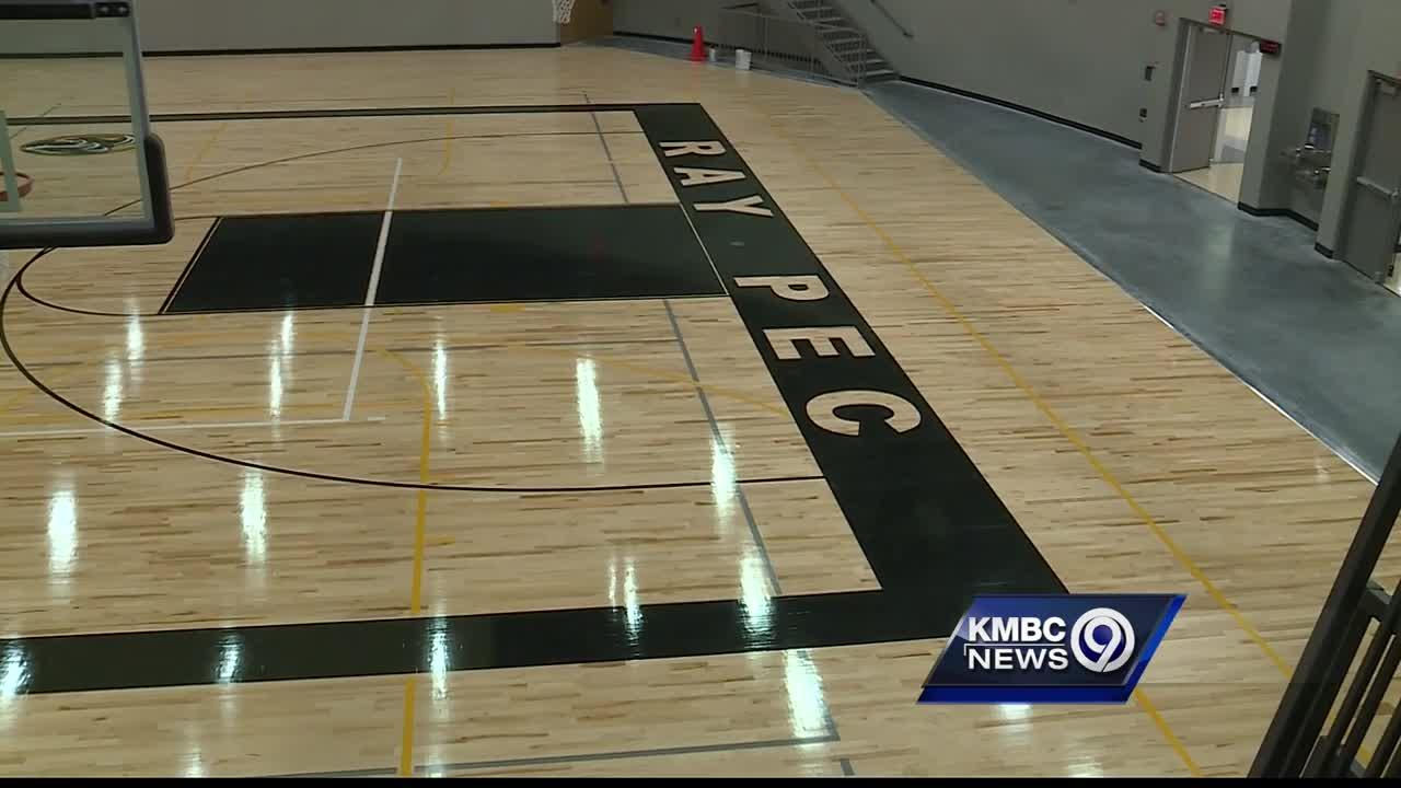 New gym at Ray-Pec High School doubles as a massive tornado shelter