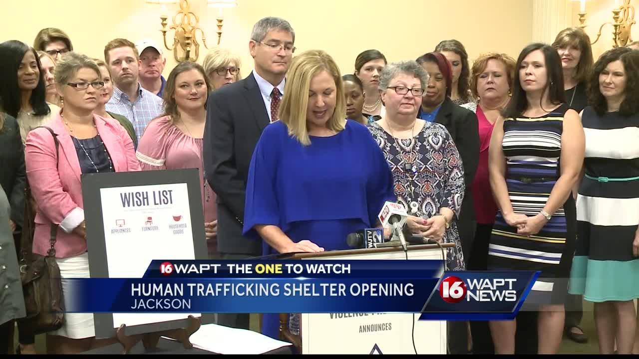 Human trafficking shelter opens