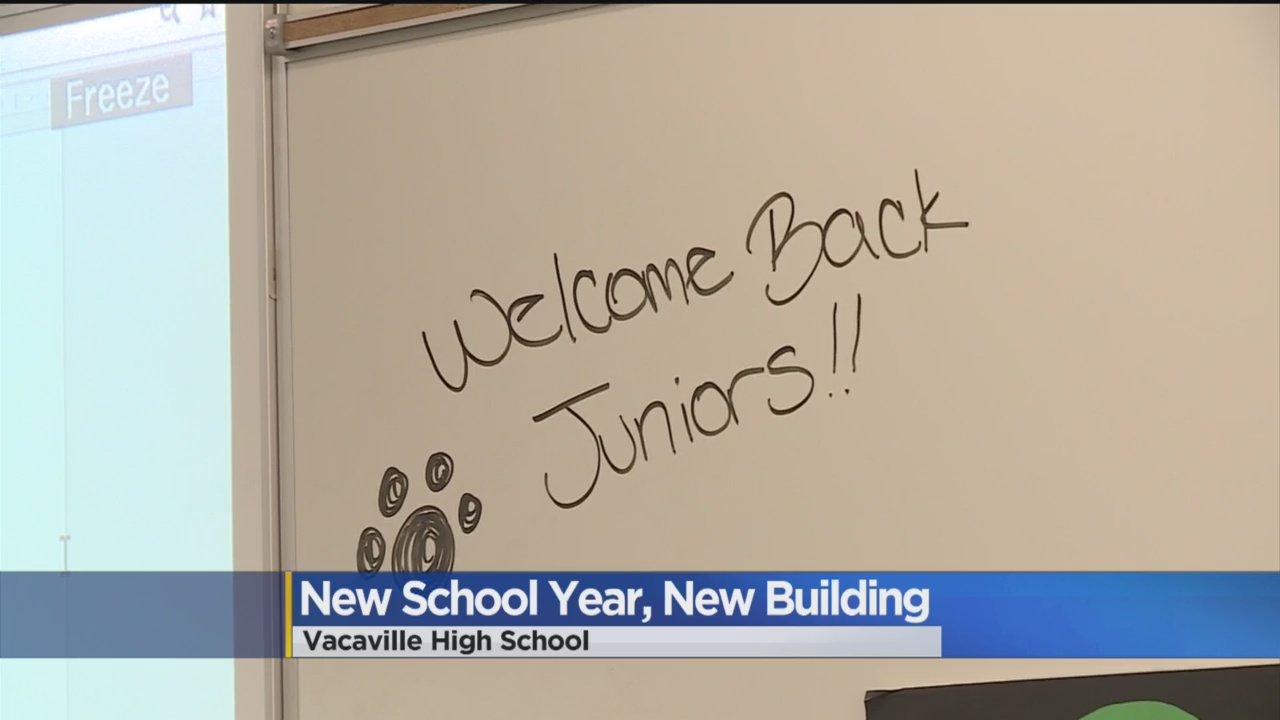 Vacaville High School Getting Makeover
