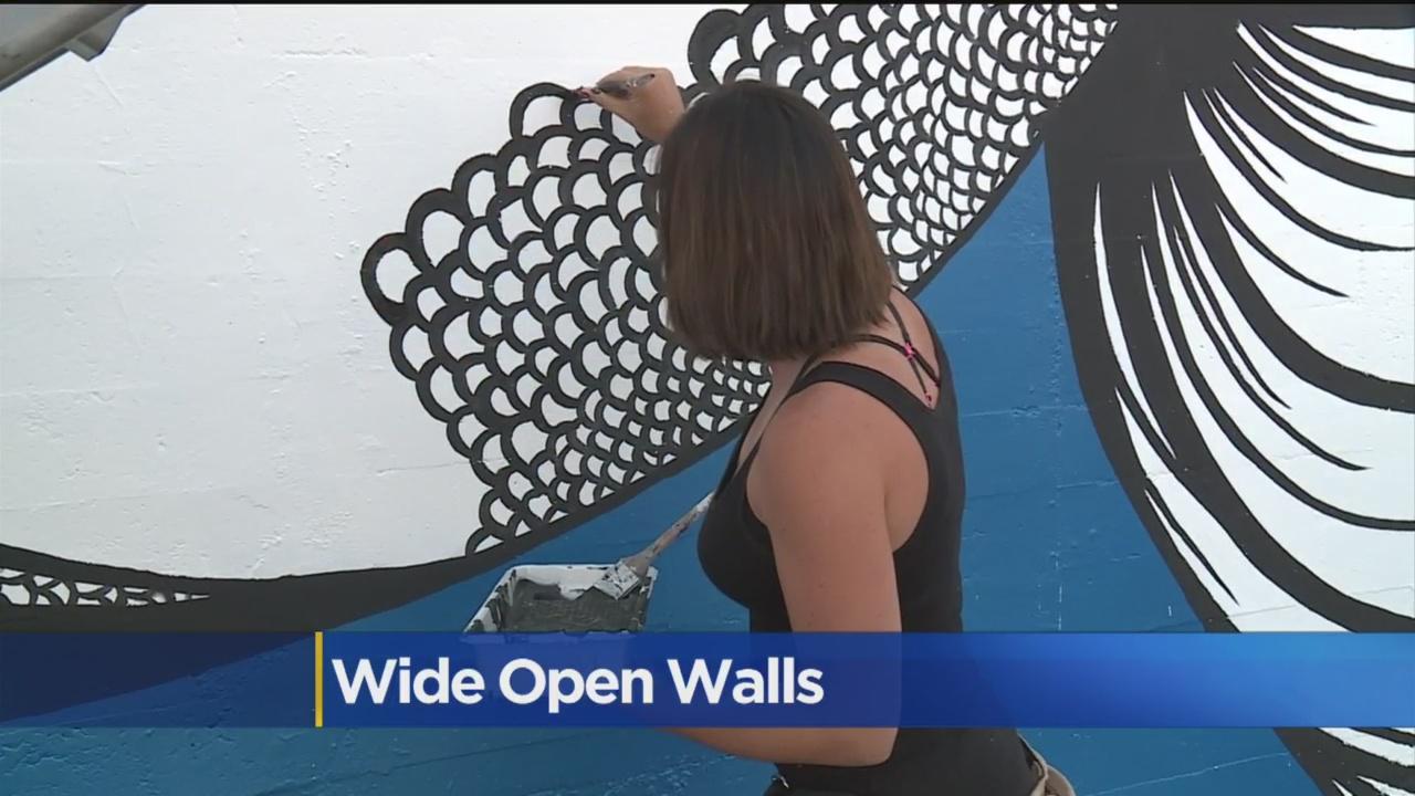 Sacramento's 'Wide Open Walls' Mural Fest In Full Swing