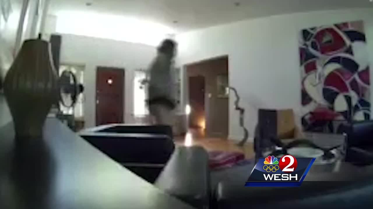 Armed burglars caught after breaking into Orlando home, police said