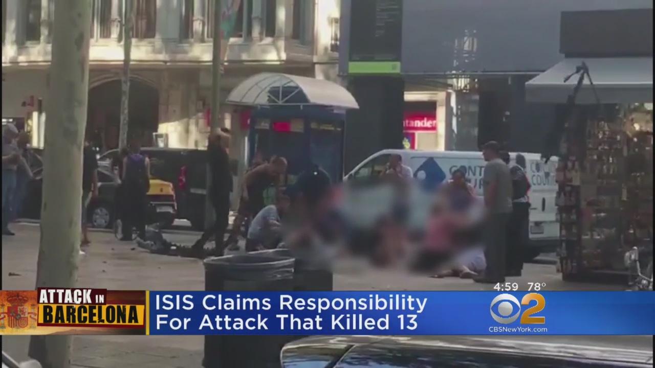 13 Killed, Dozens Hurt In Barcelona Terror Attack