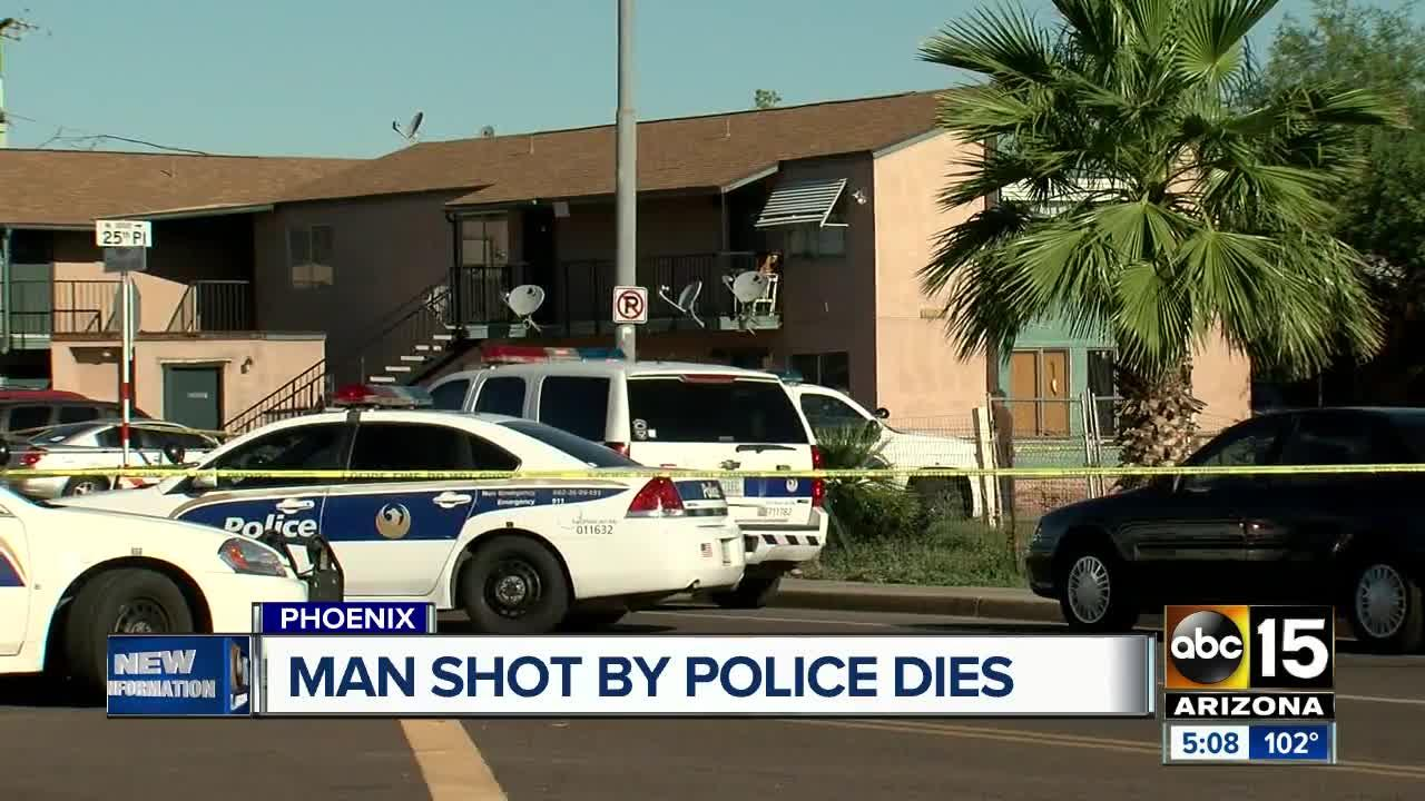 Suspect killed in officer-involved shooting in downtown Phoenix