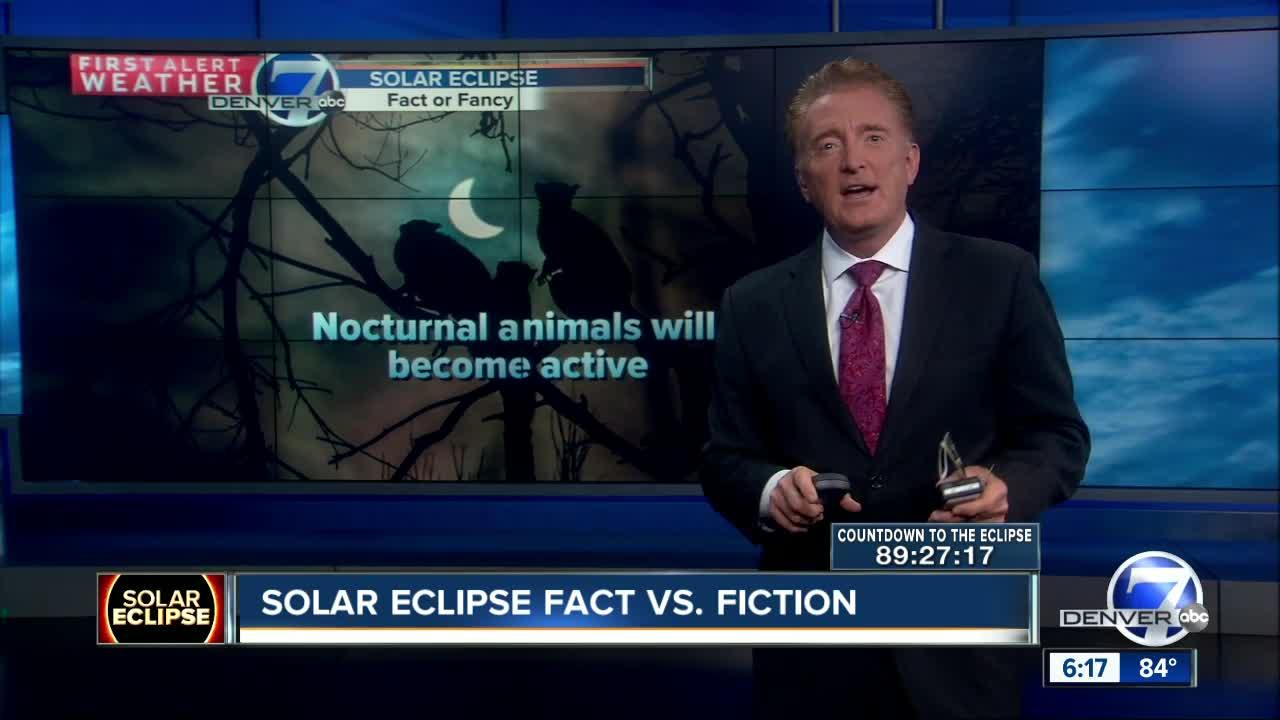 Myths surrounding the solar eclipse