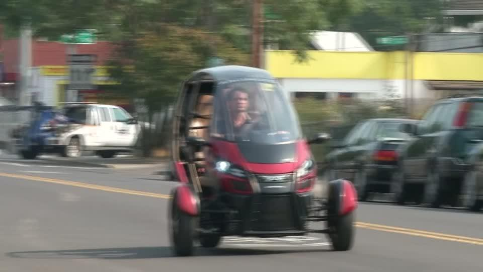 Three-wheeled electric vehicle to launch at $12,000