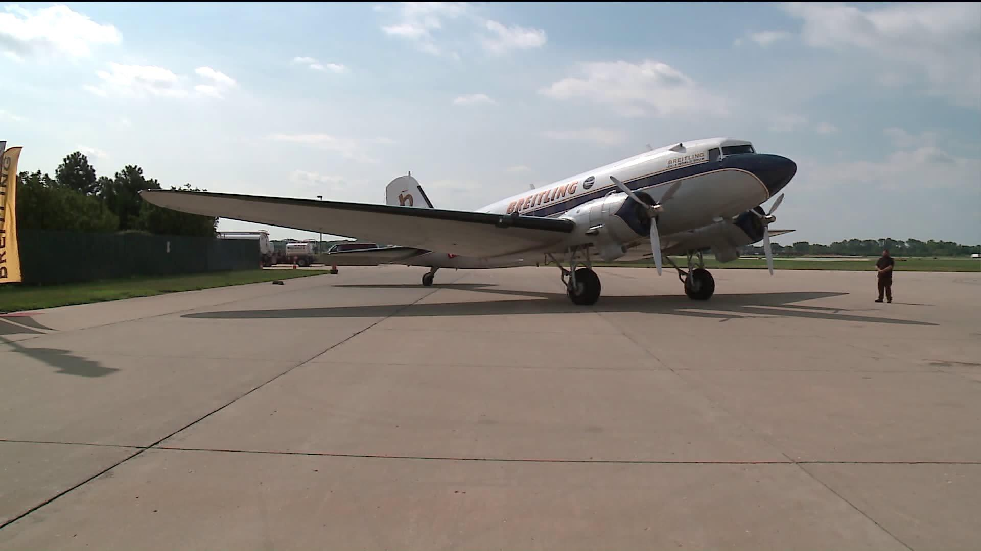 WWII Aircraft Attempting Record-Breaking Trip Around the World