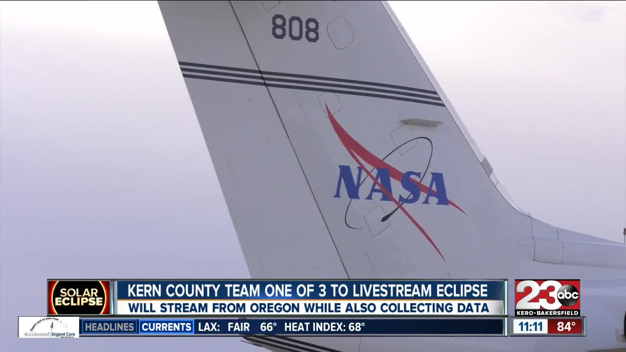 Kern County NASA team set to broadcast eclipse for the nation