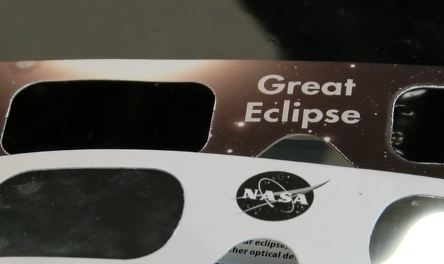 Preparing for the solar eclipse
