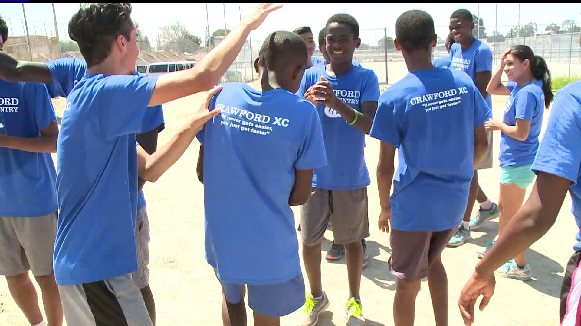 Teenage Refugees Find Support On High School Cross-Country Team