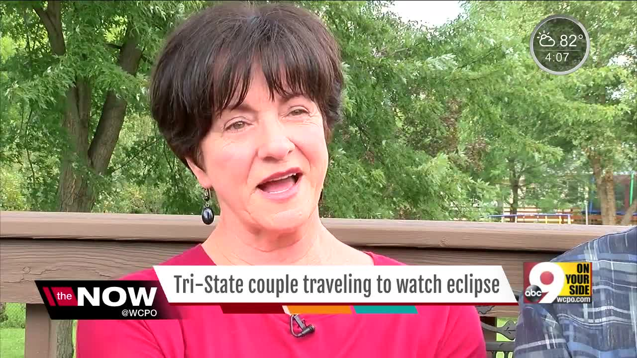 Northern Kentucky couple driving to Path of Totality for 'last chance' to see total eclipse