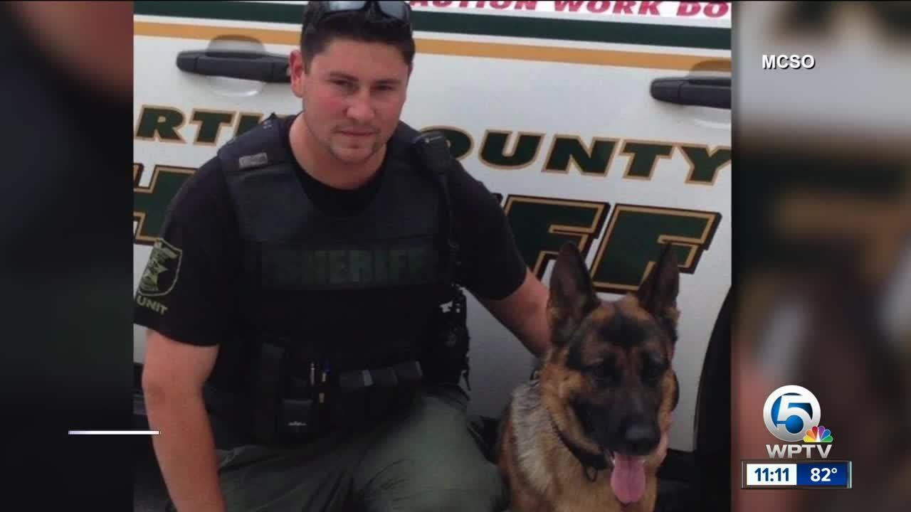 Martin County Sheriff's Office K-9 Kaspar recovering from surgery