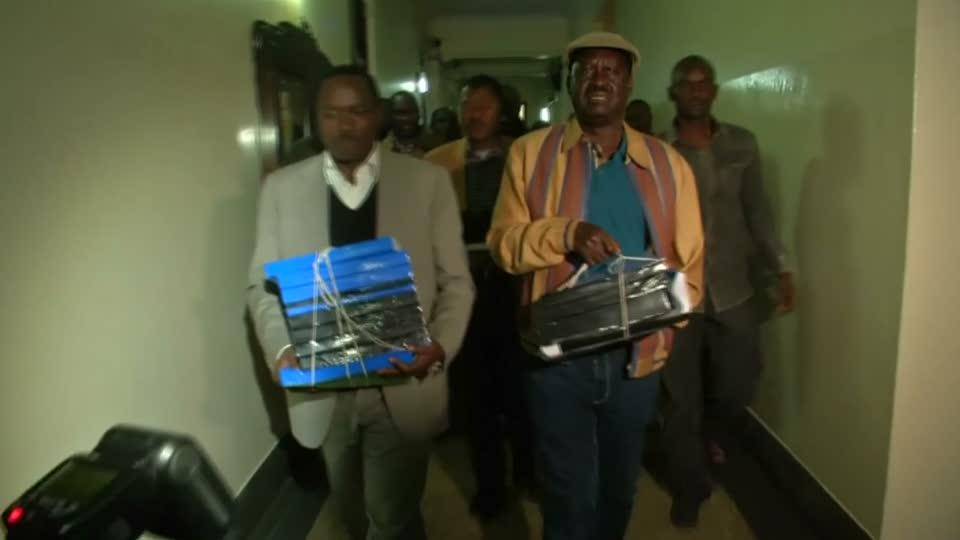 Kenya's opposition takes legal action