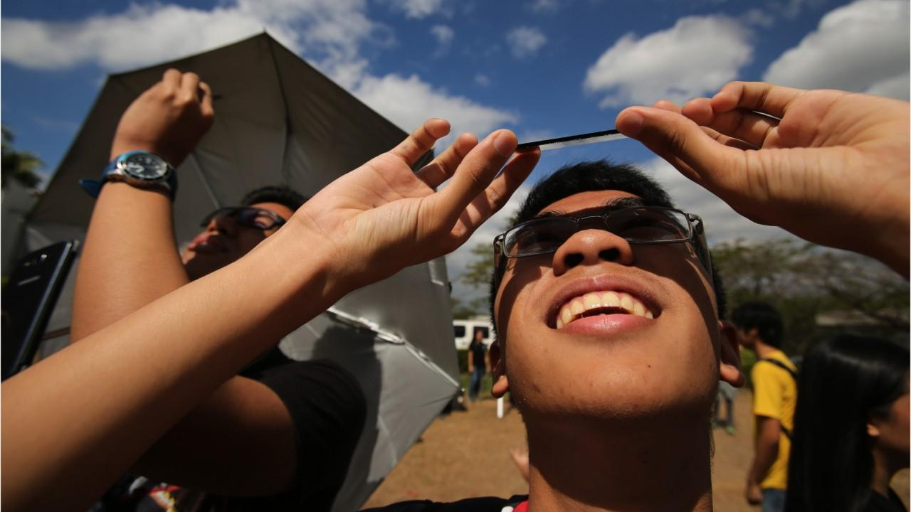 Pack sunscreen if looking at the solar eclipse