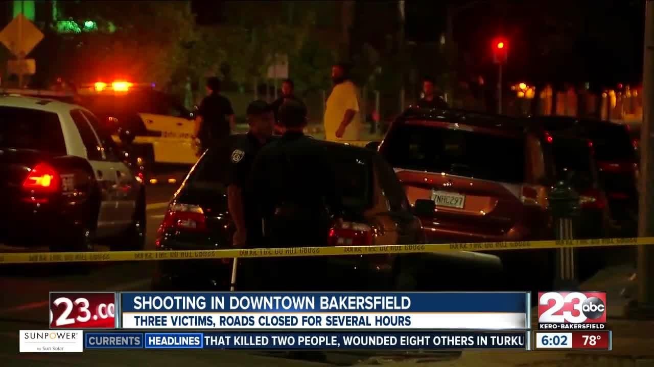 Shooting at Dowtown Bakersfield Nuvo Club and Lounge