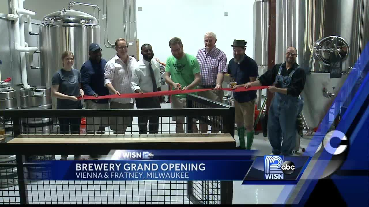 New brewery opens in Milwaukee