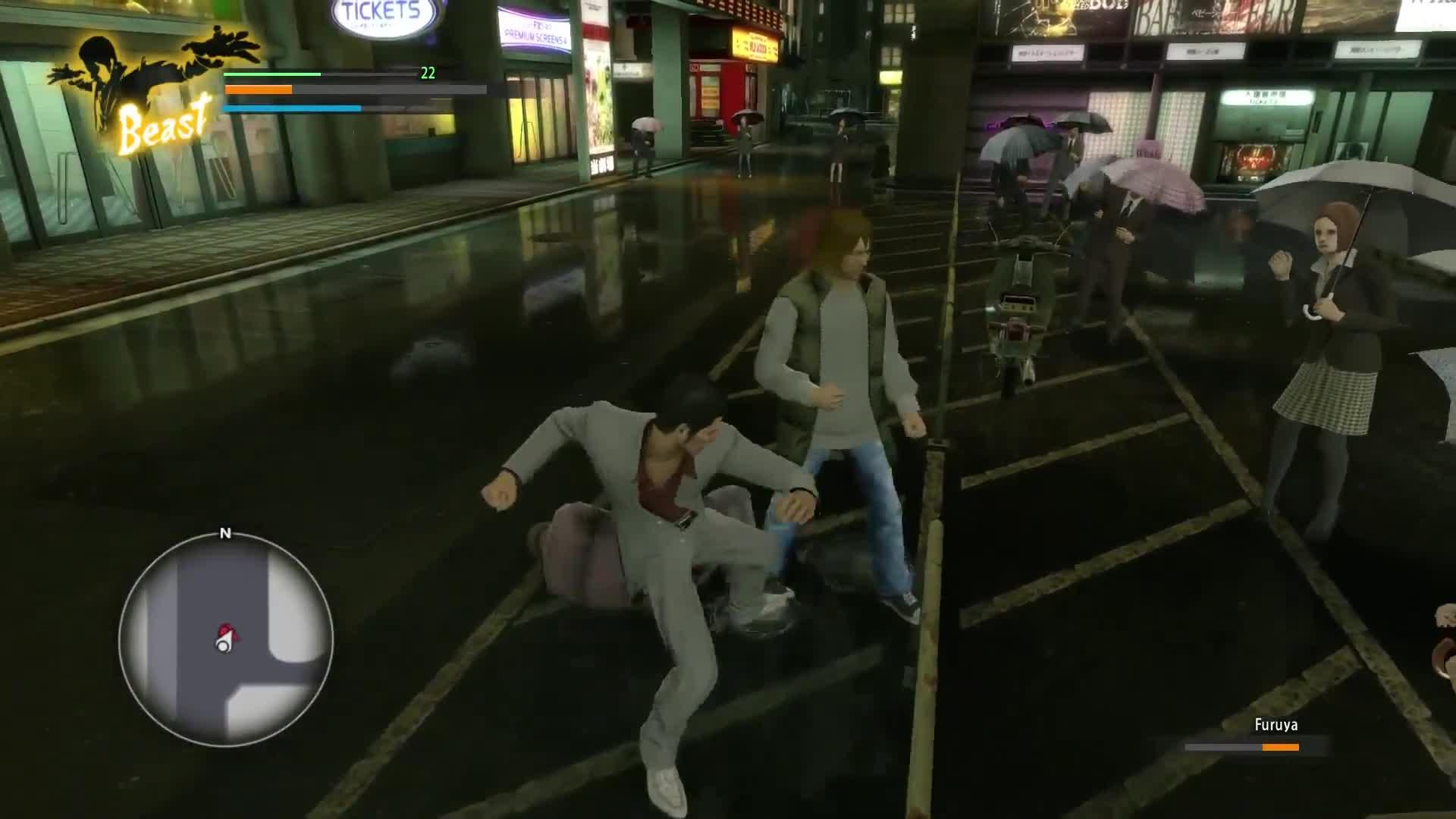 Street Brawling Gets Fierce And Weird In Yakuza Kiwami Gameplay
