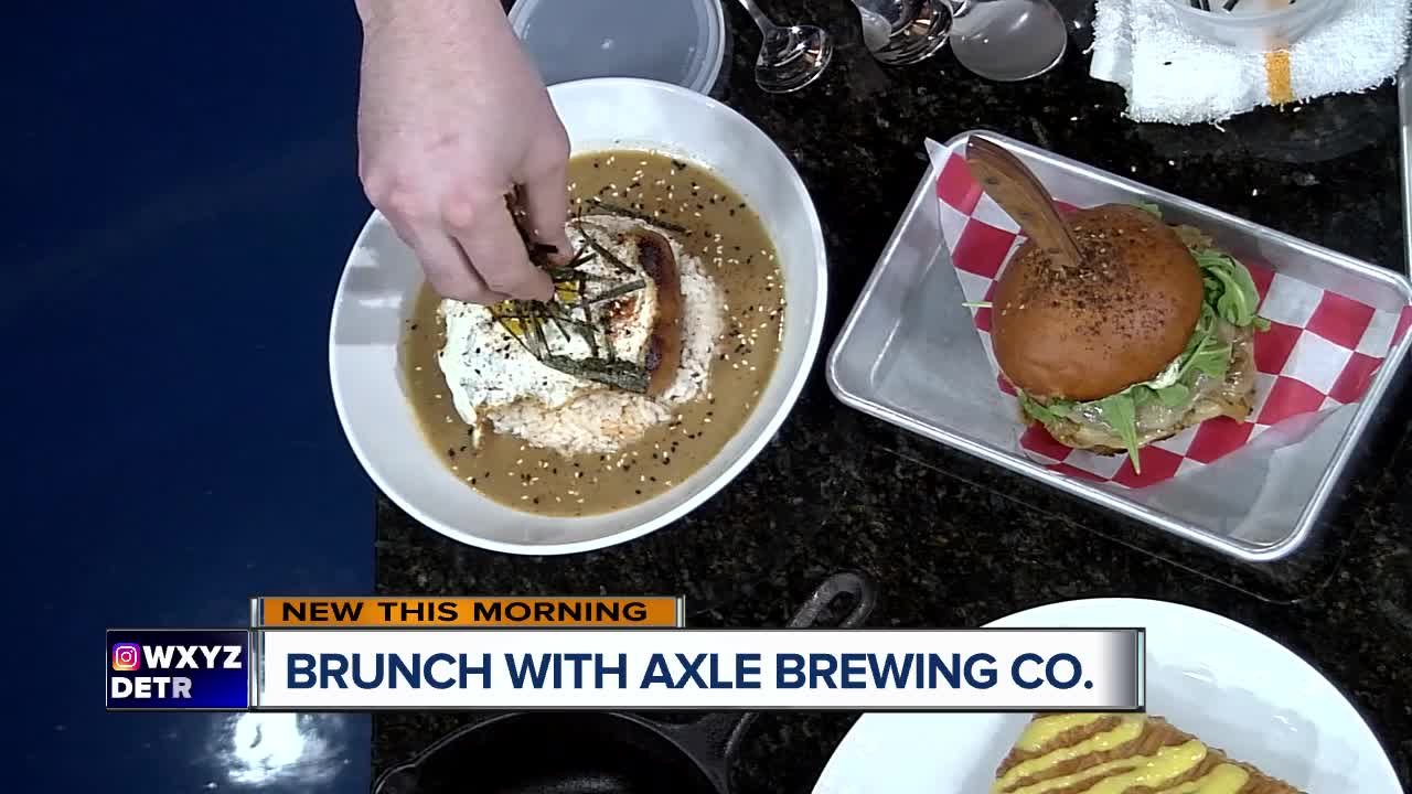 Axle Brewing Co. expands menu at Livernois Tap