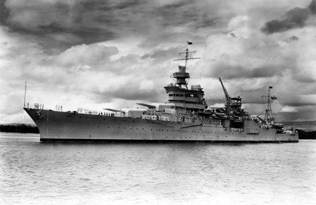 Lost WW2 USS Indianapolis ship found after 72 years