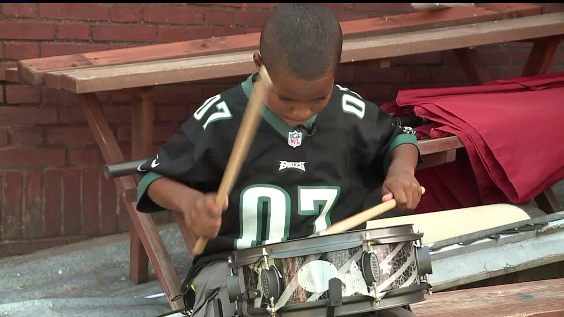 10-Year-Old Drummer Hopes to Start Foundation Giving Instruments to Schools