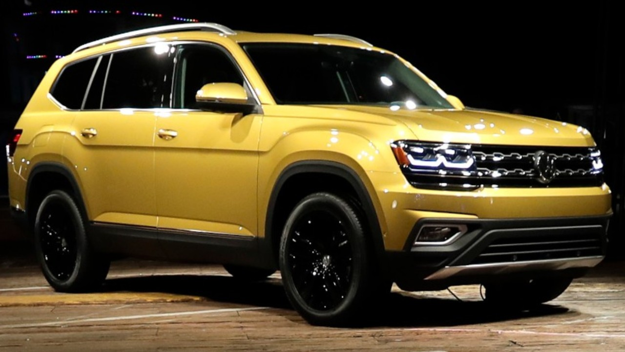 Review: VW's New Atlas SUV Provides Tough Competition For Ford, Toyota