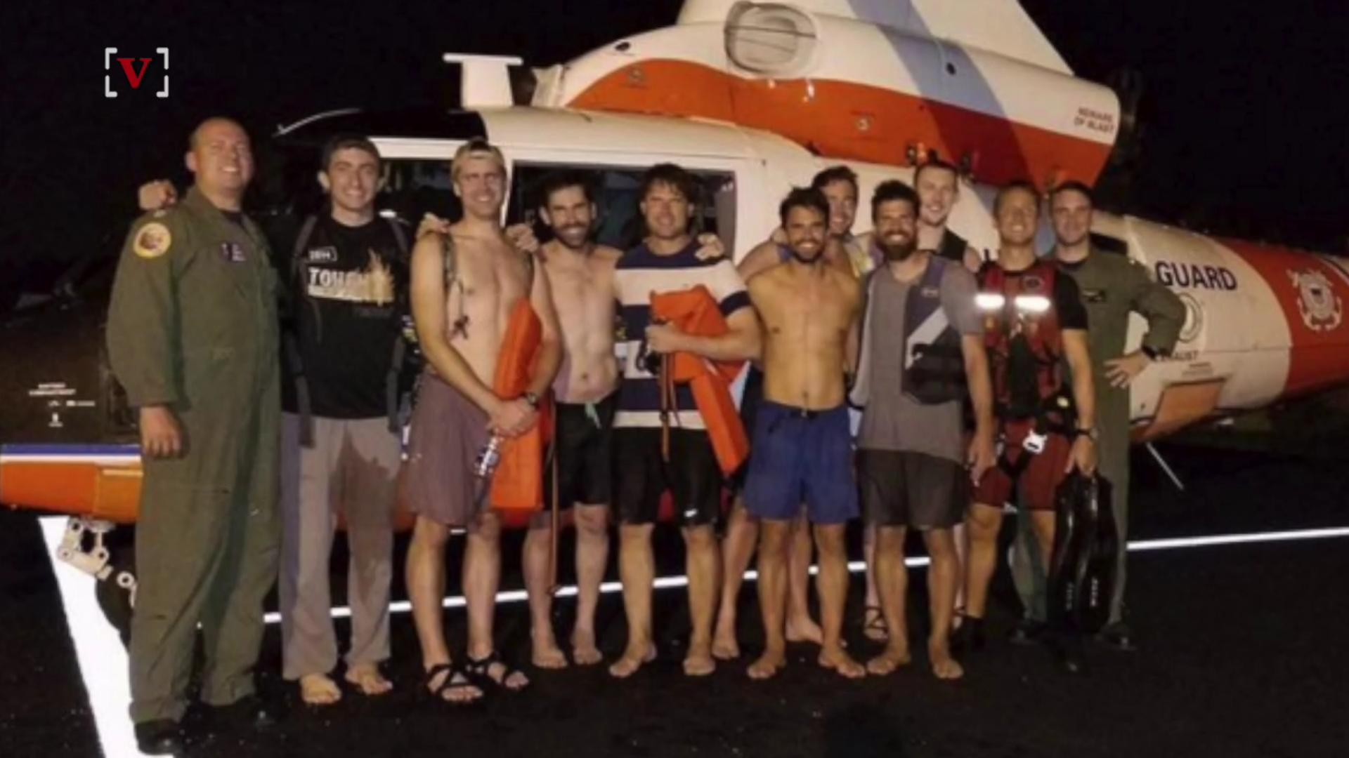 Bachelor Party Gone Wrong With the U.S. Coast Guard Coming to the Rescue