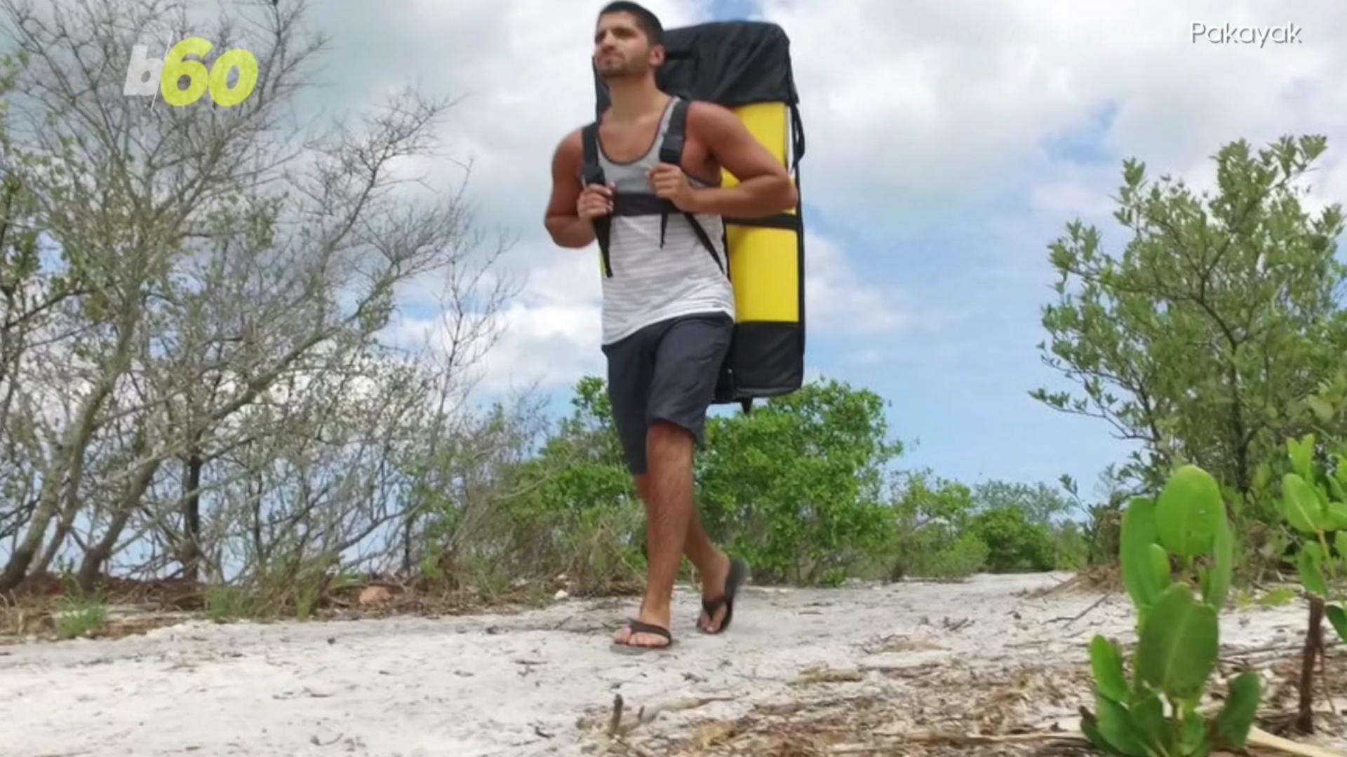 This Kayak Fits Into a Backpack So You Can Take It Anywhere