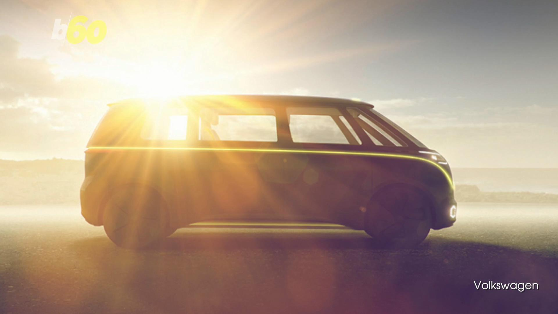 From Hippie to Hipster: The New VW Bus Will Be Electric