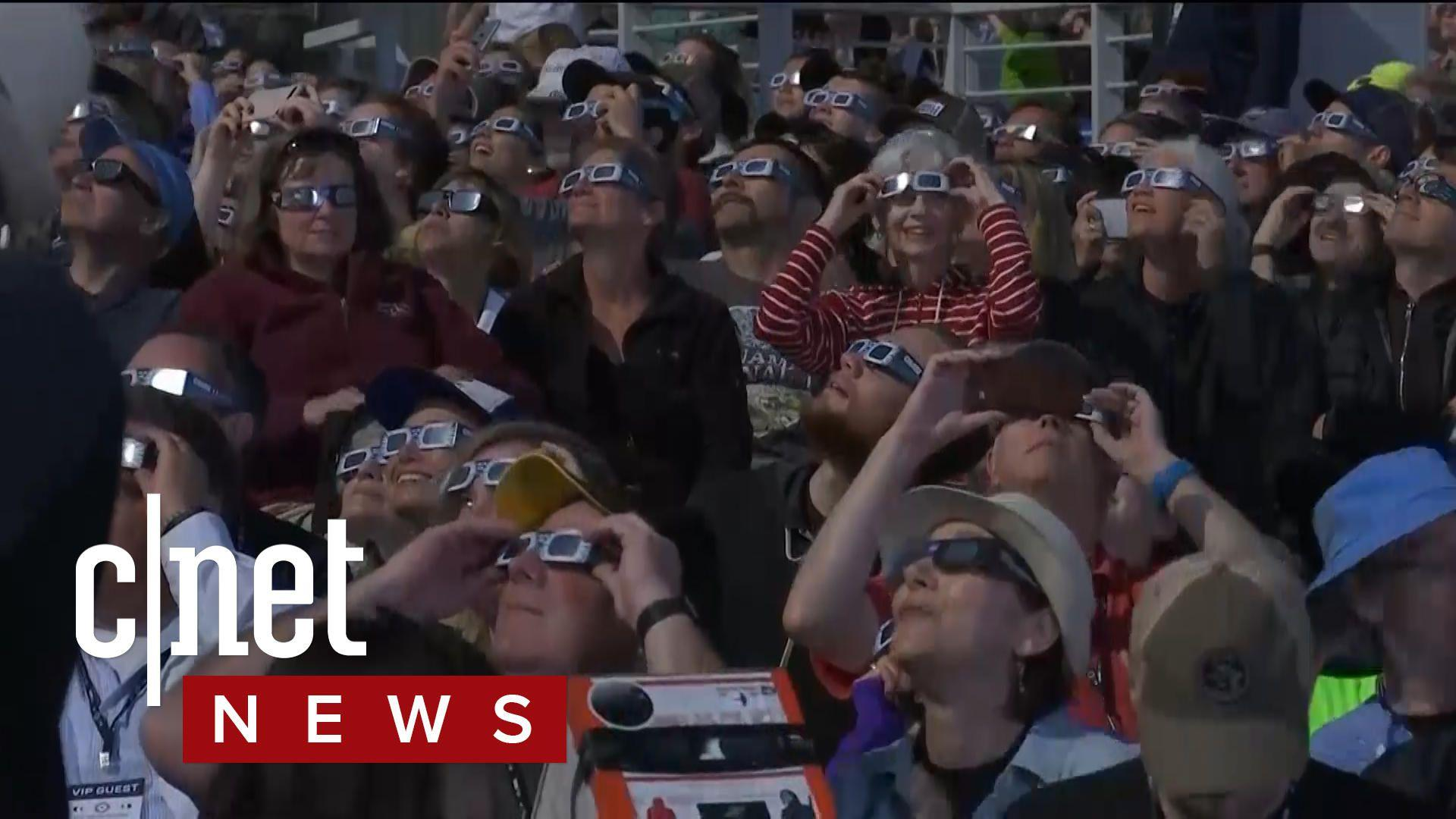 Solar eclipse wows millions across the United States, see it all