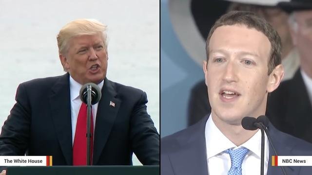 Report: Trump's Team Is Tracking Mark Zuckerberg As A Possible Opponent In 2020