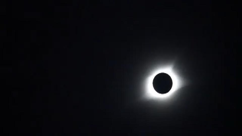 Rare total solar eclipse spreads wonder across United States