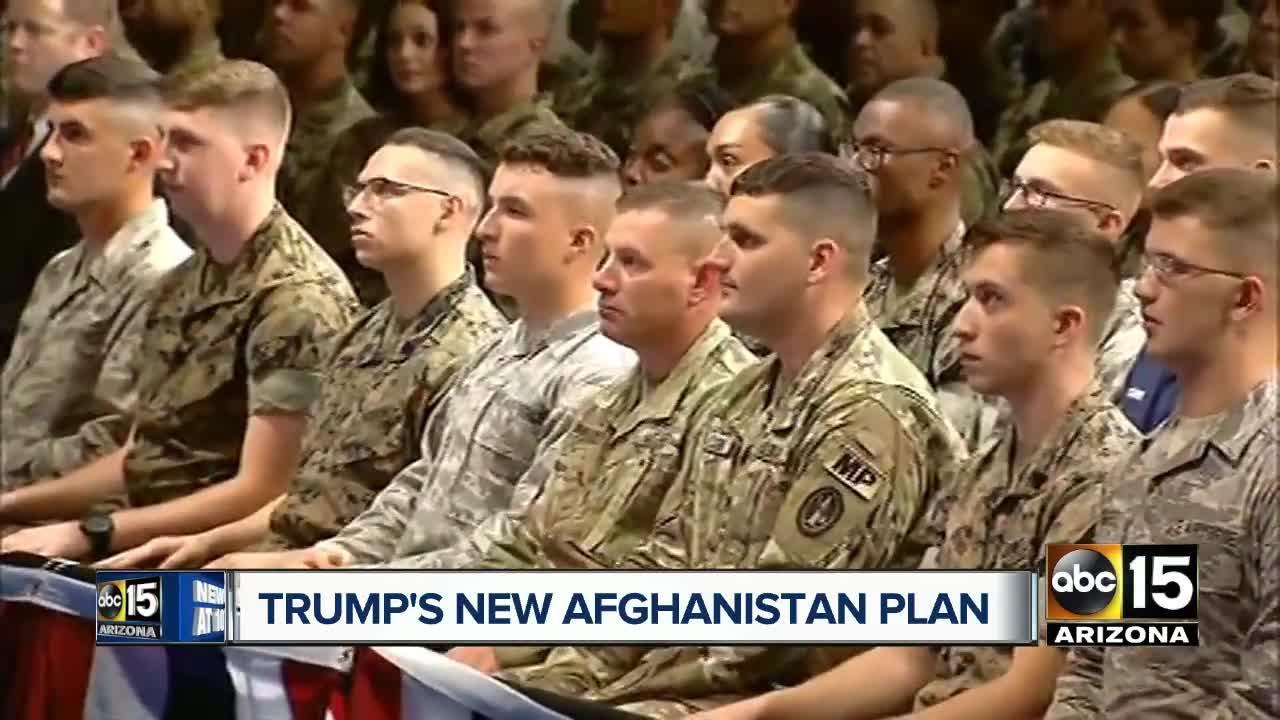 Trump's plan on Afghanistan war is to increase American presence