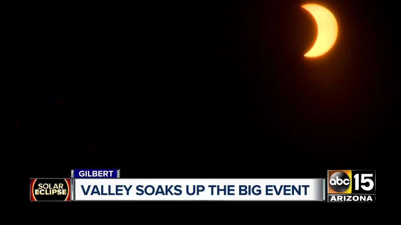 Solar eclipse: People feel cosmic connection with vortex