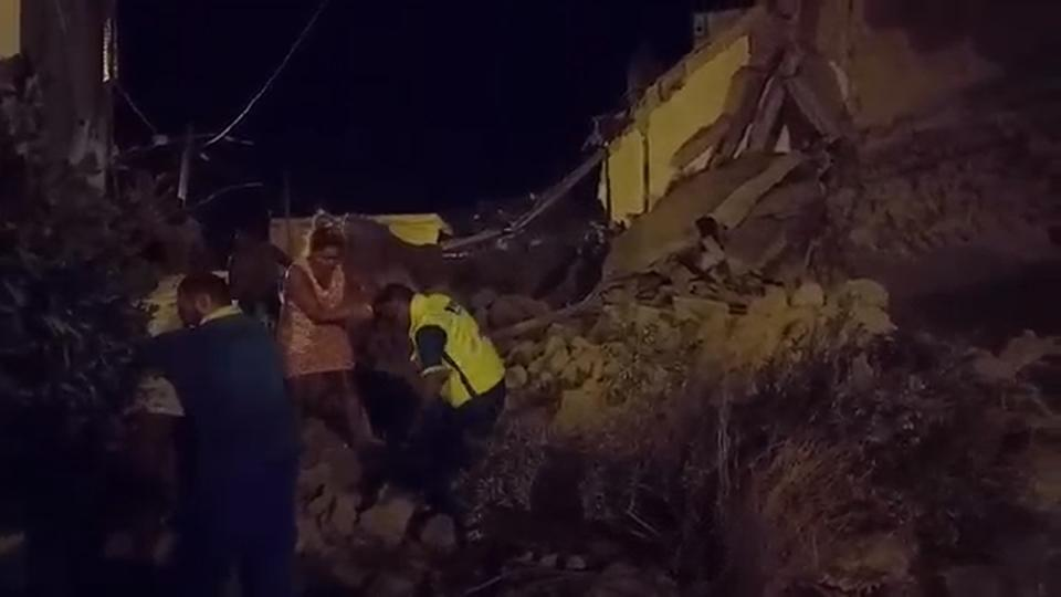 At least one dead after quake hits Italian island