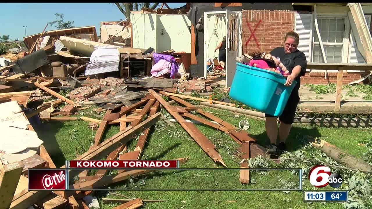 Kokomo communities still rebuilding one year after EF-3 tornado