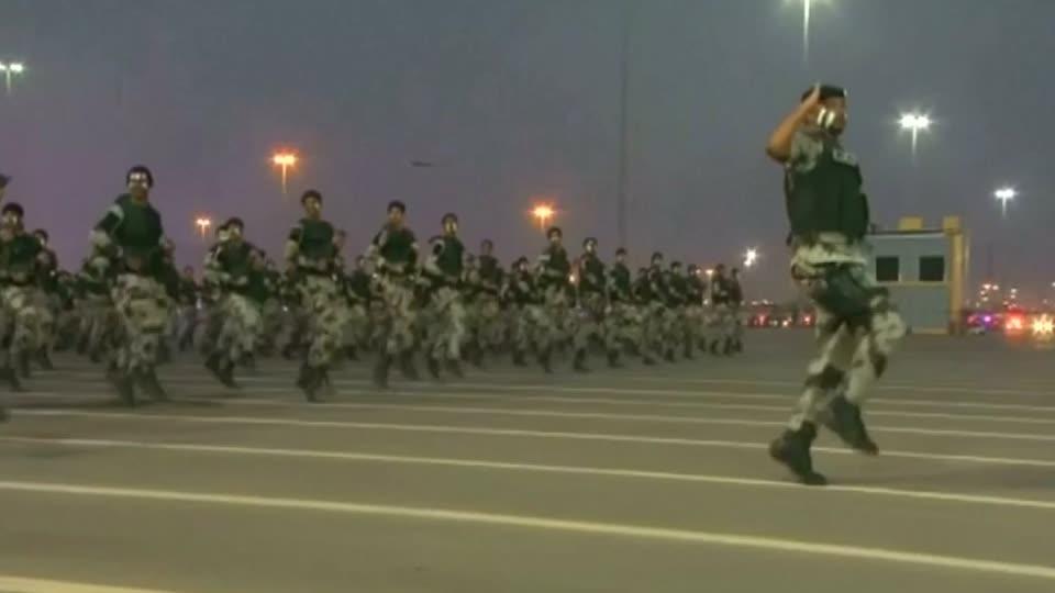 Saudi shows military might ahead of Haj pilgrimage in Mecca