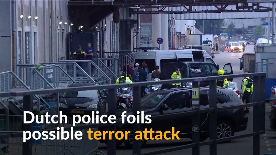Dutch police foil potential terror attack