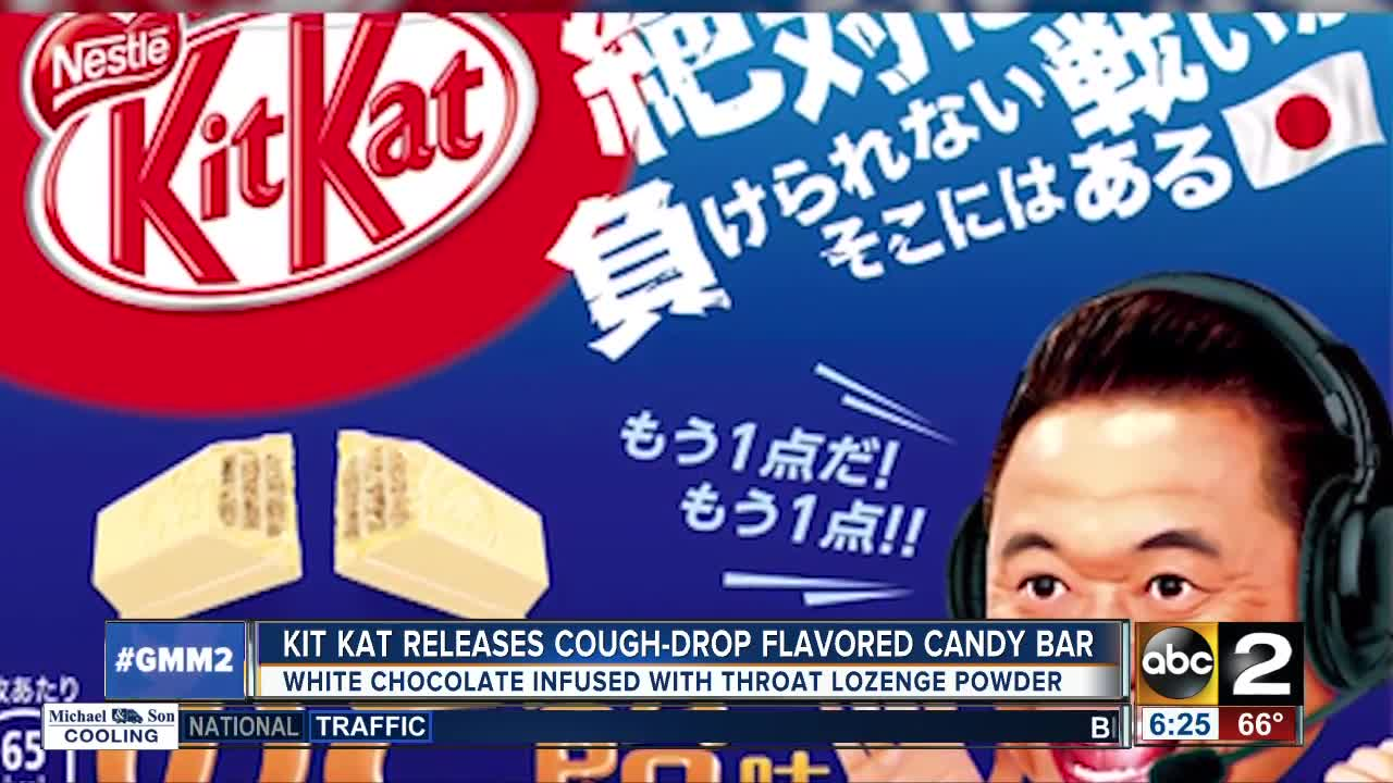 Kit Kat releases cough-drop flavored candy bar