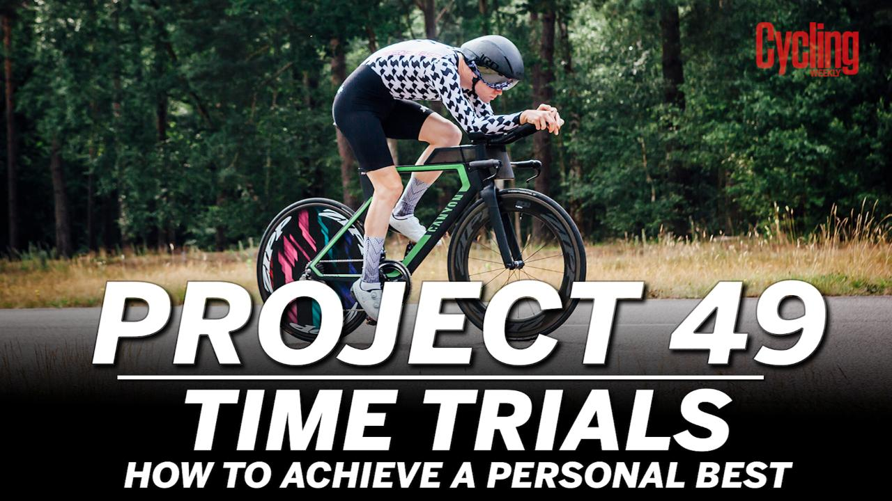 Project 49: How to achieve a 25 mile time trial personal best