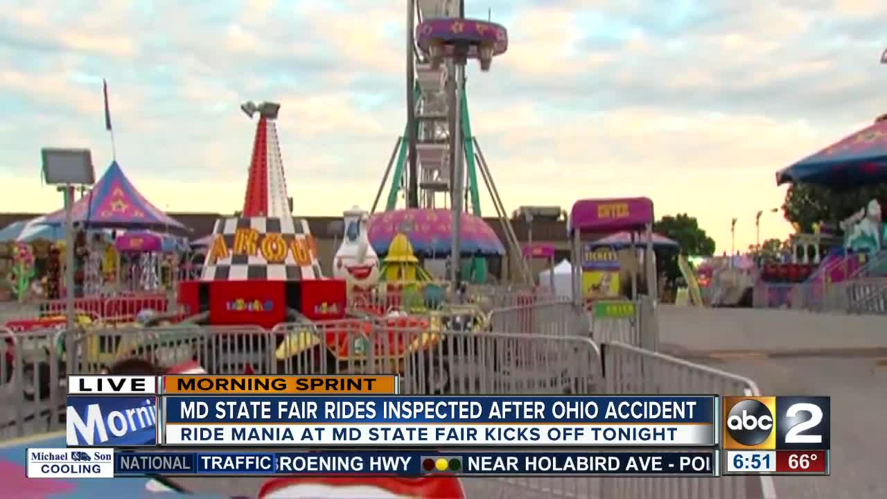 Sneak peak of safety at the Maryland State Fair
