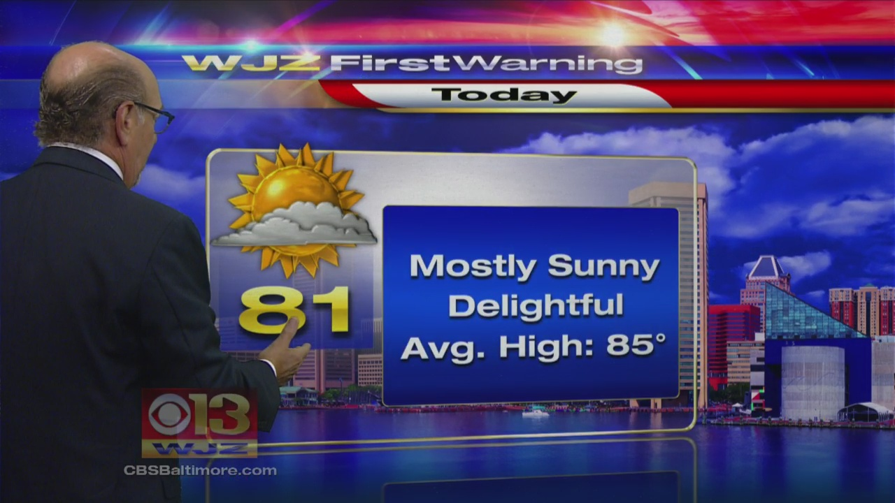 Marty Bass Has Your Thursday Morning First Warning Weather Forecast
