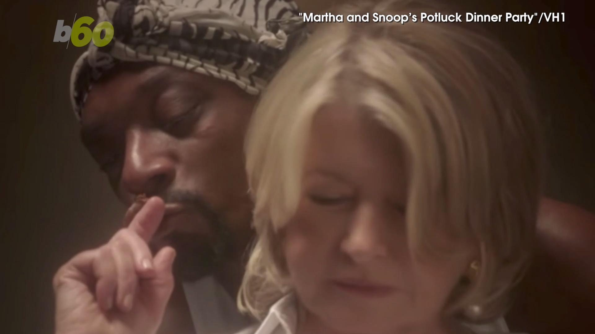 So Steamy! Snoop Dogg and Martha Stewart Recreate Sexy 'Ghost' Scene