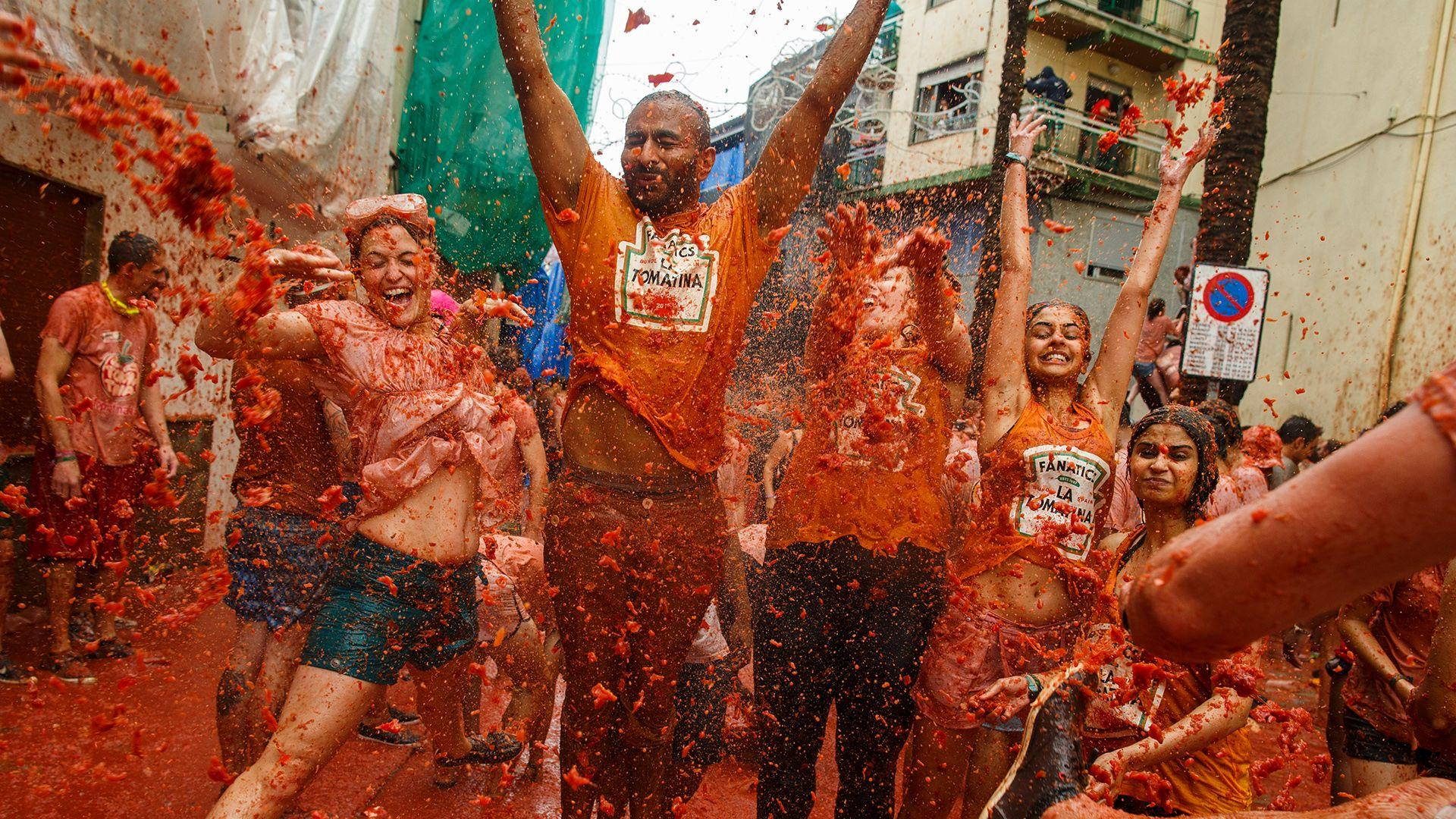 La Tomatina: The World's Largest Food Fight