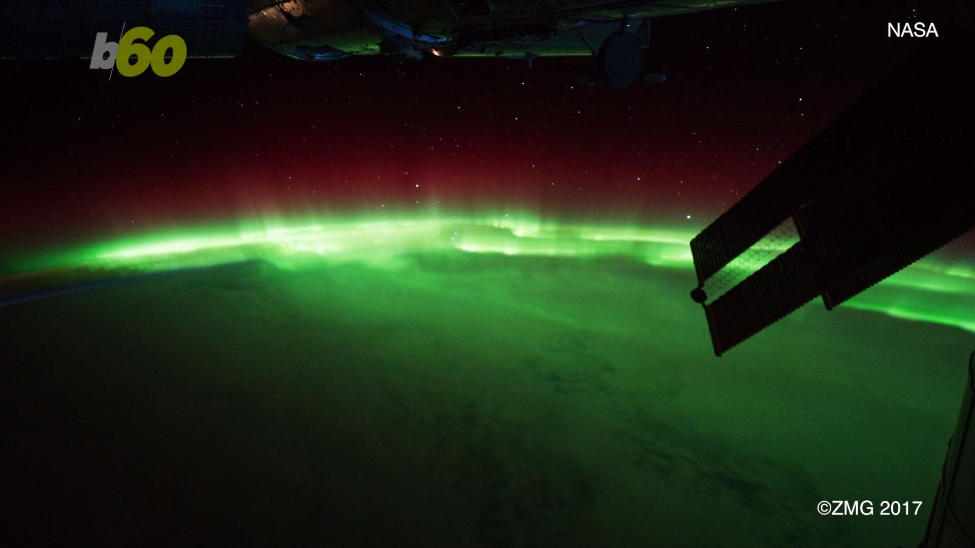 Massive Solar Storm Brings Rare Light Shows To United States
