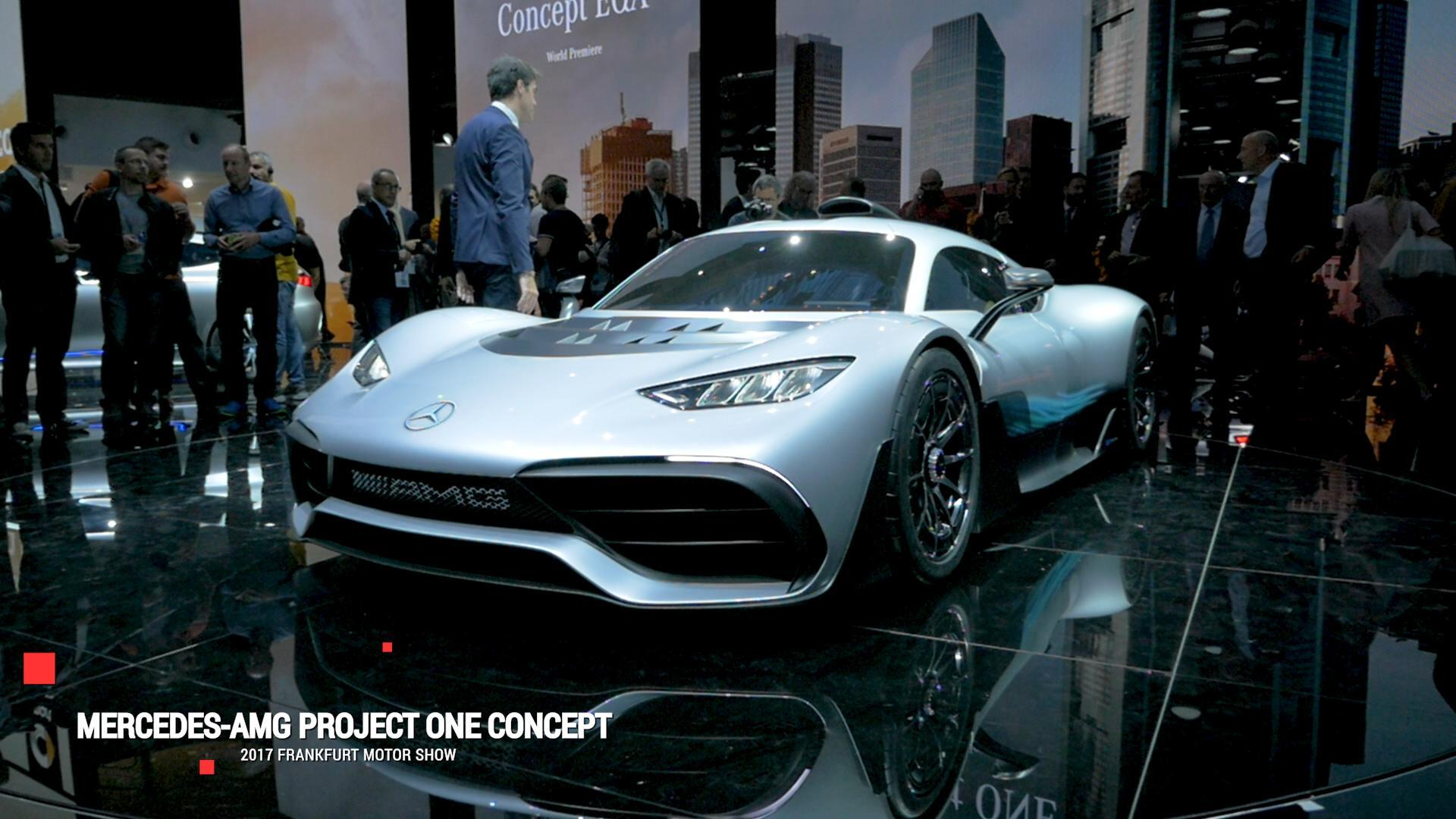 Mercedes-AMG Project One: Jaw-dropping power signals a new era in Mercedes performance