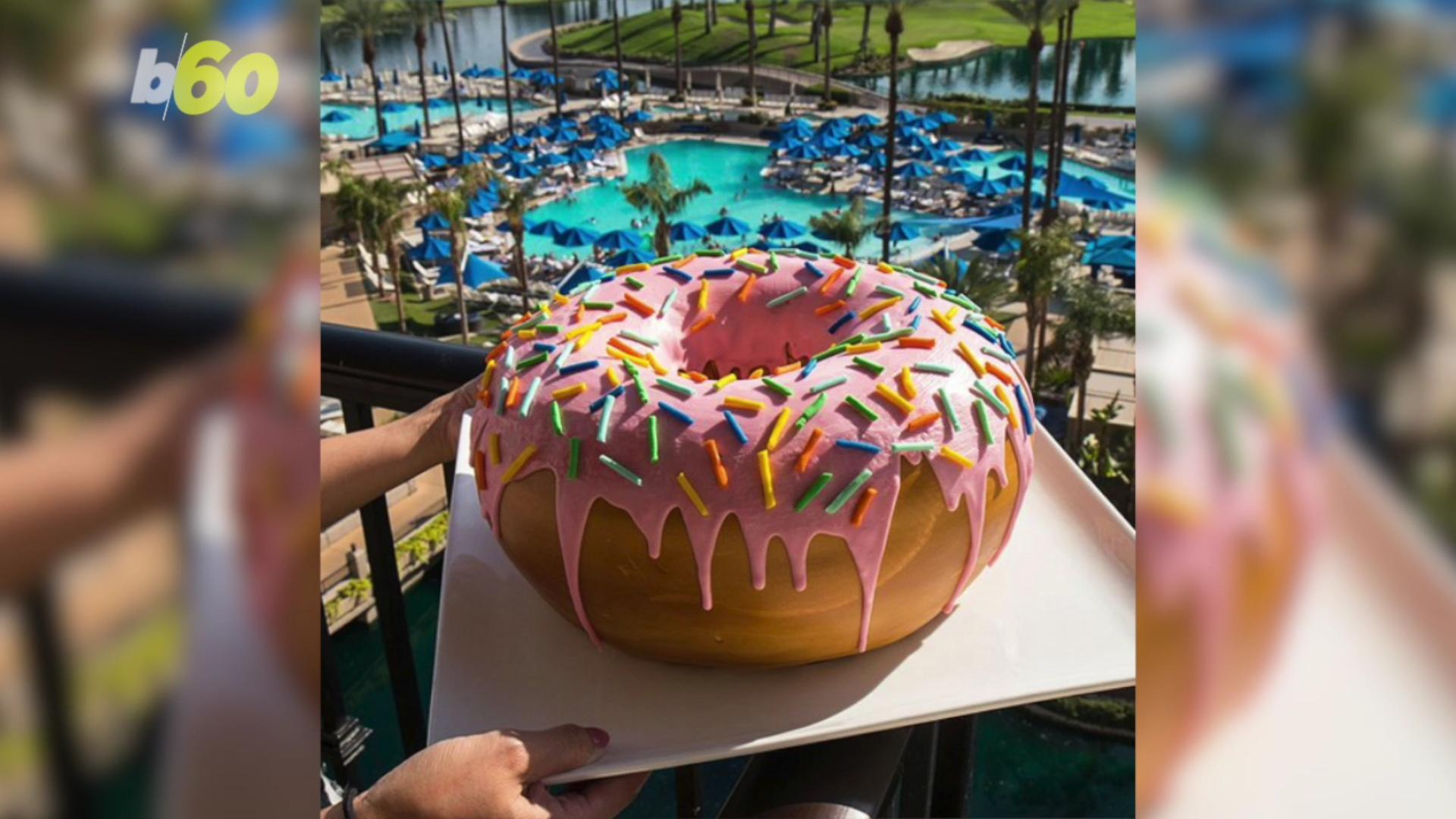 'Donut Disturb' is This Hotel's Promo That Delivers a 10-Pound Donut To Your Room