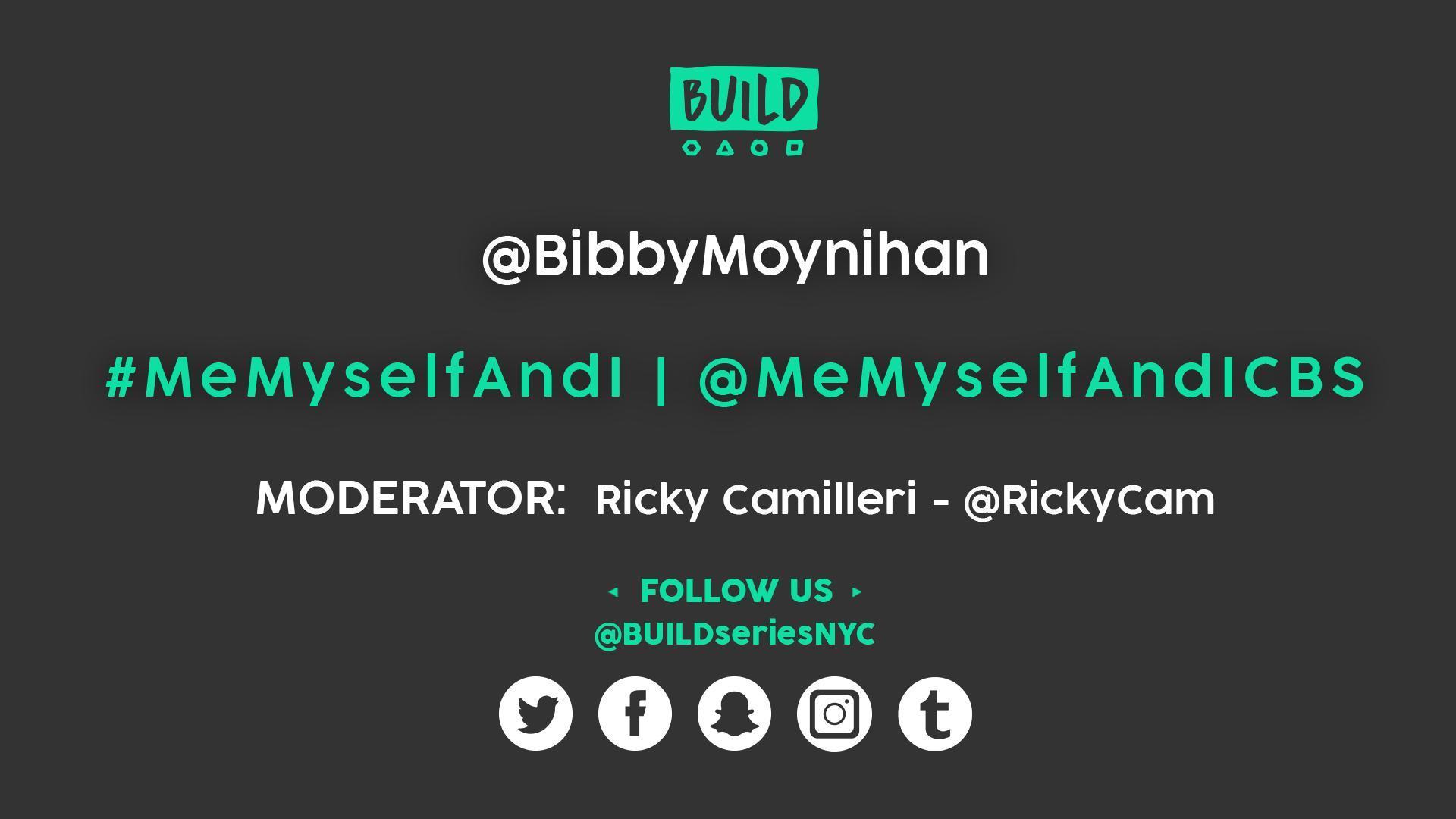 Bobby Moynihan LIVE on BUILD Series