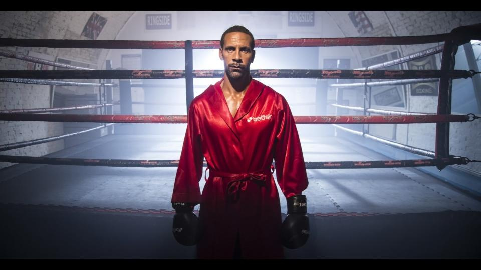 Retired soccer player Rio Ferdinand launches boxing career