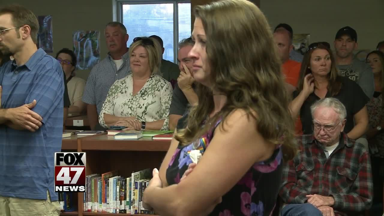 Opinions clash over transgender bathroom policy at school board meeting